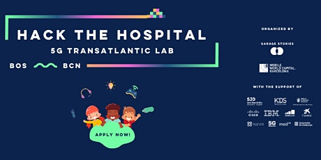 HACK THE HOSPITAL - #5GTransatlanticLab edition I - Boston tickets