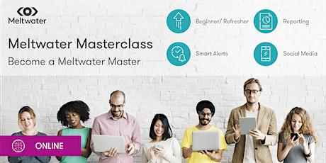 Meltwater Explore Basics Masterclass tickets