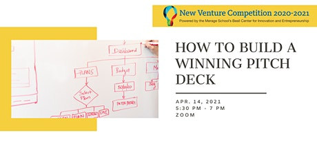 2021 New Venture Competition Workshop #7 tickets