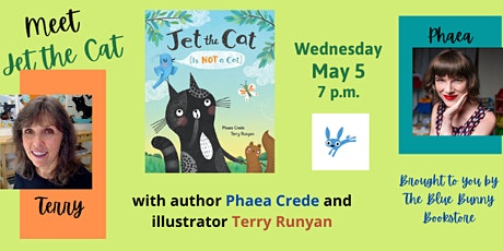 Meet Jet the Cat with Author Phaea Crede and Illustrator Terry Runyan tickets