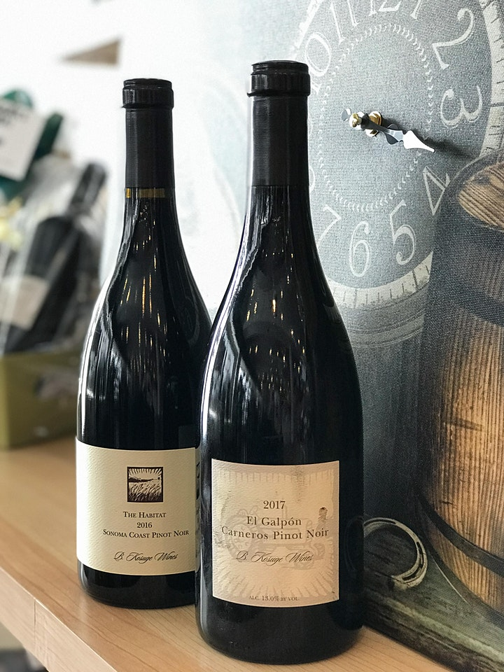 The Best of California Pinot Noir Virtual Wine Tasting w/ Byron Kosuge image