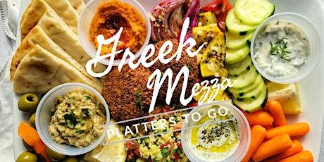 Greek Mezze Platters To Go with Recipes tickets