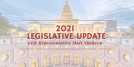 Legislative Update with Representative Matt Shaheen tickets