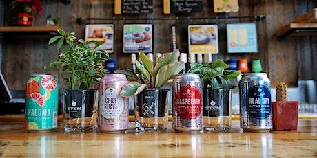 Cider & Sides : Tiny Plants Denver & Stem Ciders tickets