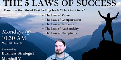 The 5 Laws of Success - #2: The Law of Compensation tickets