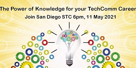 The Power of Knowledge for your TechComm Career tickets