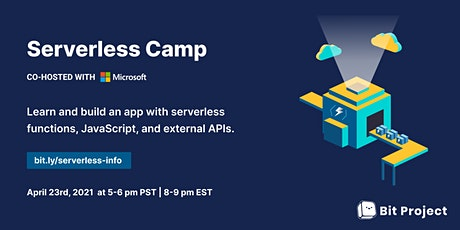 Serverless Camp Info Session tickets