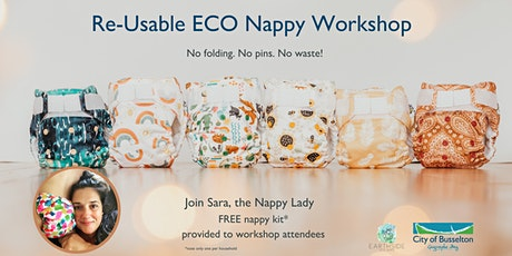 Reusable ECO Nappy Workshop Series tickets