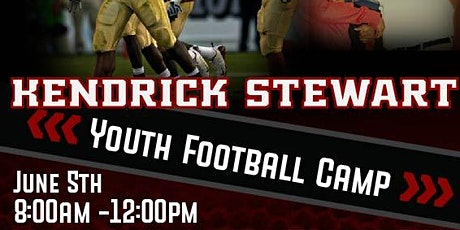 Kendrick Stewart Youth Football Camp tickets
