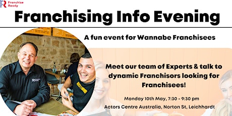 Franchising Info Evening tickets