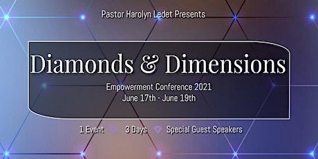 Diamonds & Dimensions tickets