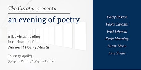 An Evening of Poetry tickets