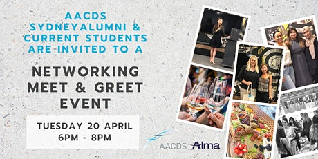 AACDS Networking  Meet and Greet Event Sydney tickets