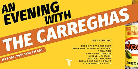 An Evening With The Carreghas - ENGLISH tickets