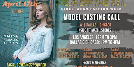 CHICAGO: STREET-WEAR CASTING tickets