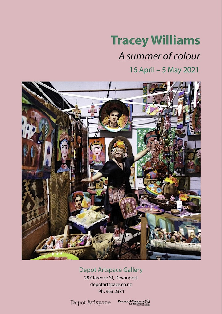 Tracey Williams - A summer of colour image