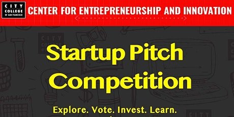 Startups Pitch Competition tickets