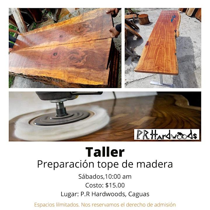 Taller topes en madera image