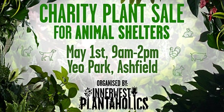 Charity Plant Sale for animal shelters tickets