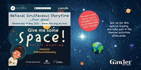 National Simultaneous Storytime - from space tickets