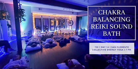 New Moon Chakra Balancing Reiki Sound Bath (South OC) tickets