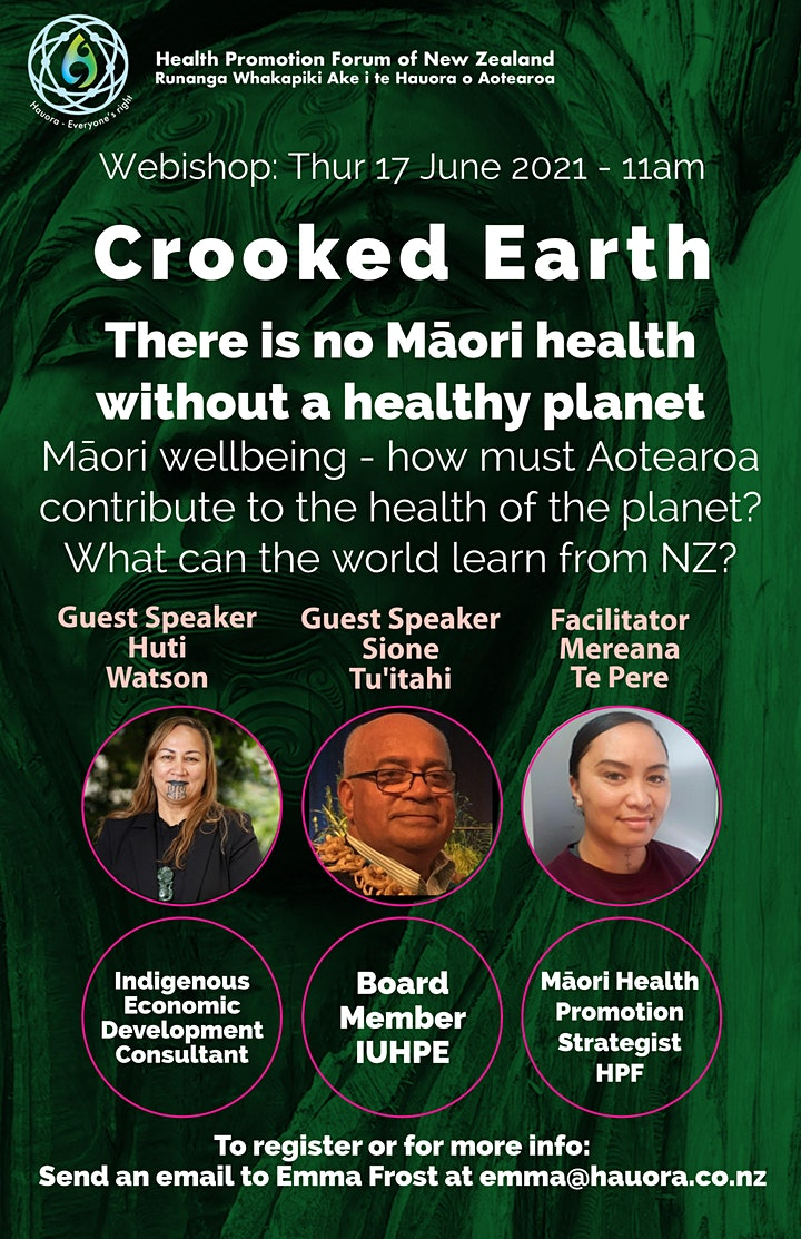 Crooked Earth: No Māori Health Without Planetary Health image