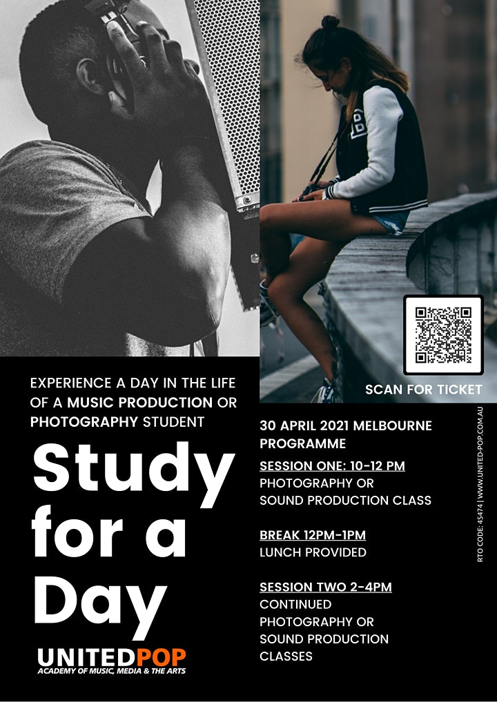 Study For  A Day | United Pop Australia image
