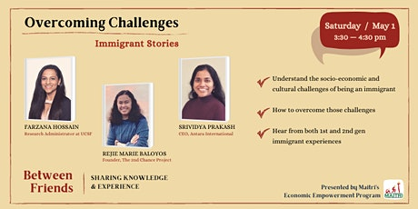 Overcoming Challenges: Immigrant Stories tickets