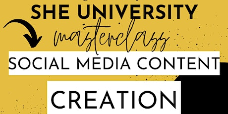 Social Media Content Creation tickets