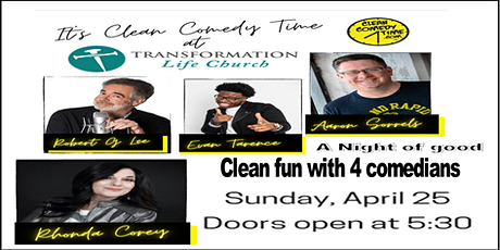 Clean Comedy Night with Aaron Sorrels & friends tickets