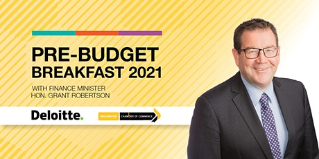 Pre-Budget Breakfast with  Finance Minister Hon. Grant Robertson tickets
