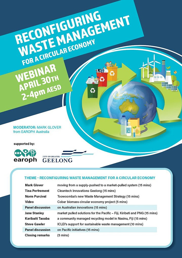 Reconfiguring waste management for a circular economy image