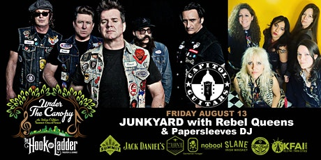 Junkyard with guests Rebel Queens, and Papersleeves DJ tickets