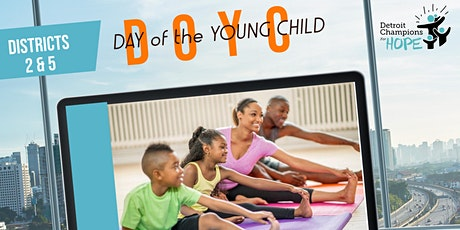 Day of the Young Child Yoga Matching Game tickets