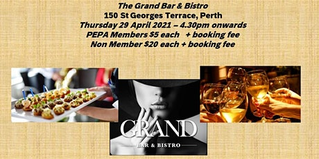 April Sundowner - The Grand Bar and Bistro tickets