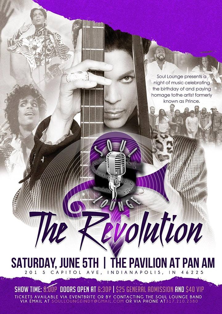 Soul Lounge - The Revolution,  A Prince Tribute image