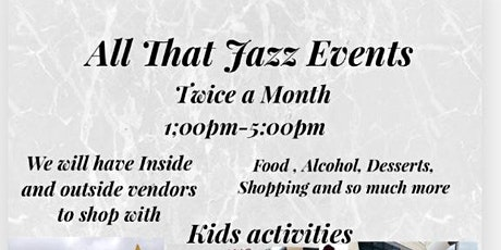 All that Jazz Events tickets