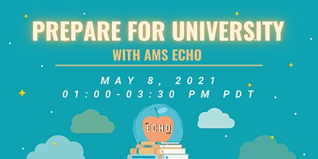 Prepare for University with AMS ECHO tickets