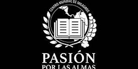 Culto de Domingo  11:00 a.m -18/04/2021-Pasión por las Almas. boletos