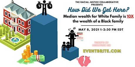 Median White Family Wealth 10X  Black Family Wealth:  How did we get here? tickets