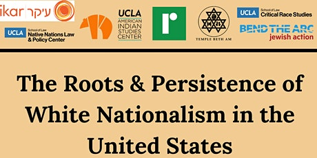 The Roots & Persistence of White Nationalism in the United States tickets