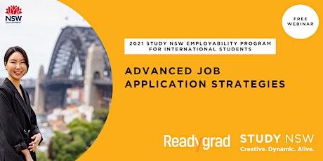 Advanced job application strategies tickets