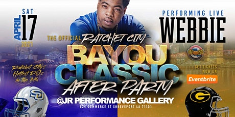 The Official Ratchet City Classic Afterparty  WEBBIE LIVE tickets