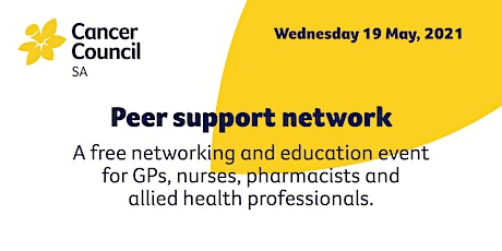Cancer Council SA Peer Support Network tickets