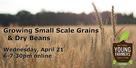 Growing Small Scale Grains & Dry Beans tickets