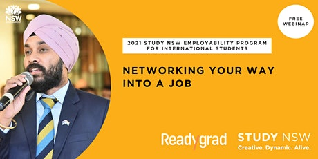 Networking your way into a job tickets