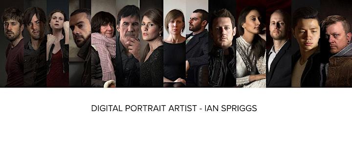 3D Animation Talk: Ian Spriggs, Digital Portrait Artist image