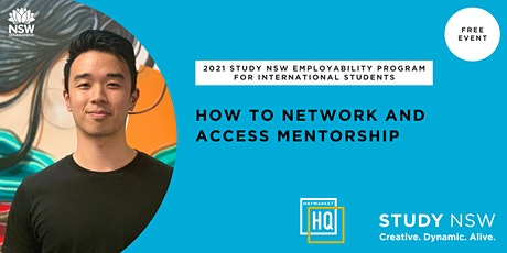 How to network and access mentorship tickets