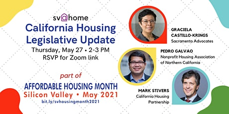 California Housing Legislative Update tickets