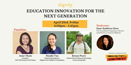 Talk: Education Innovation for the Next Generation tickets